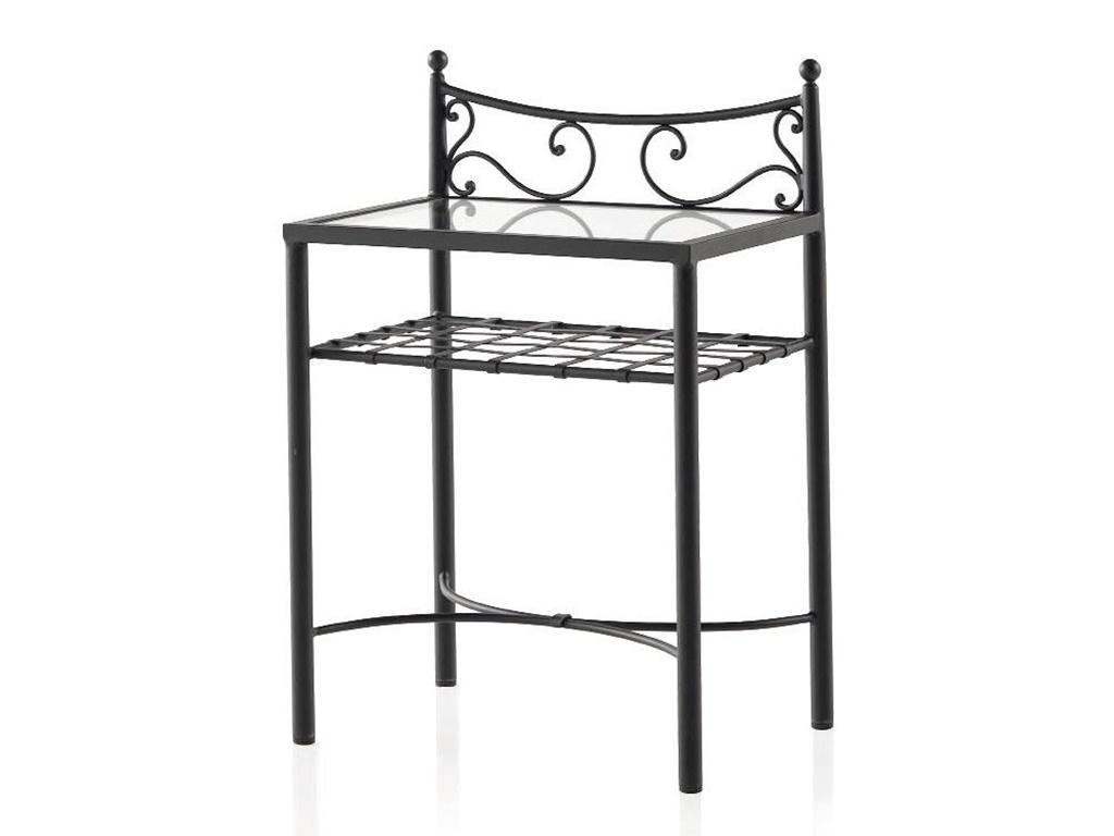 chevet mar en fer forg haut de gamme meuble pour la. Black Bedroom Furniture Sets. Home Design Ideas
