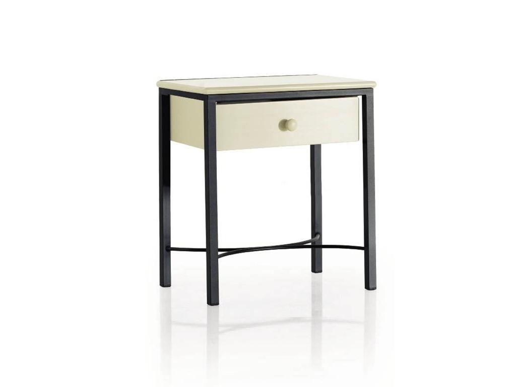 chevet moderno en fer forg haut de gamme meuble pour la. Black Bedroom Furniture Sets. Home Design Ideas