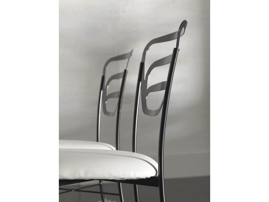 chaise mallorca en fer forg haut de gamme meuble de salle manger lotusa. Black Bedroom Furniture Sets. Home Design Ideas