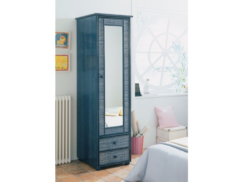 colonne mrida en rotin de qualit d 39 espagne meuble pour la chambre lotusa. Black Bedroom Furniture Sets. Home Design Ideas