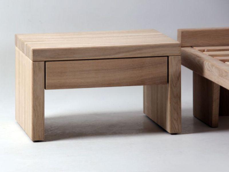 chevet en chne massif valencia de qualit meuble pour la. Black Bedroom Furniture Sets. Home Design Ideas