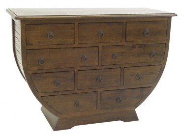 Commode 1/2 lune