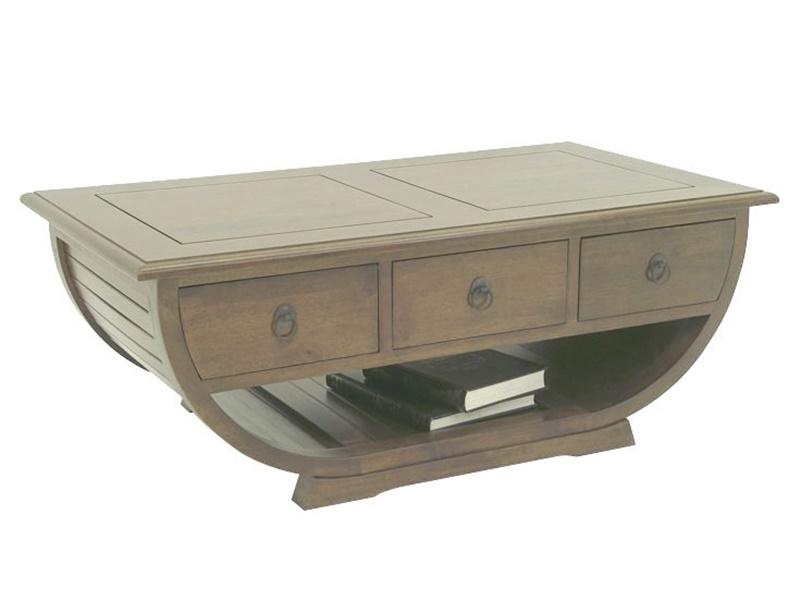 Table basse satun en h v a massif de qualit meuble en for Table basse bois massif