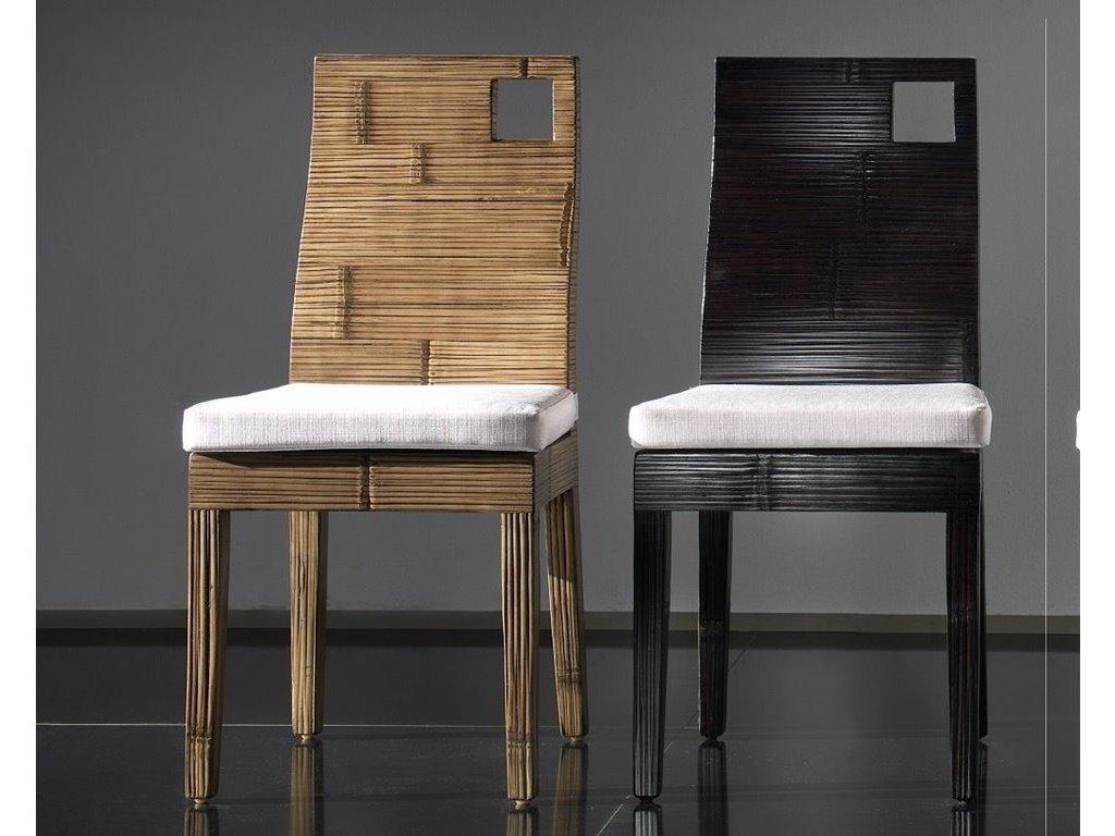 Chaise kuta en bambou haut de gamme meuble pour la salle for Hauteur meuble salle a manger