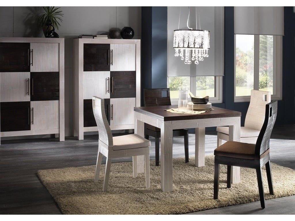 Chaise kuta coco en bambou haut de gamme meuble pour la for Salle a manger haut de gamme