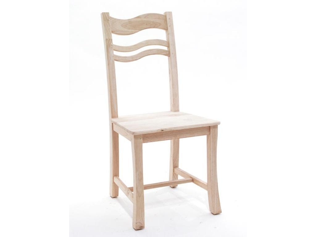 Chaise sinja en hva massif meuble en bois massif pour la for Chaise bercante en bois massif