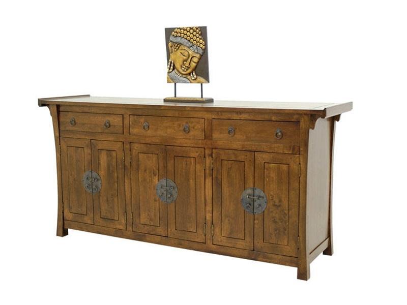 enfilade yala2 en hva massif meuble en bois massif pour. Black Bedroom Furniture Sets. Home Design Ideas