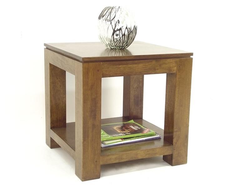Bout de canap en hva bangkok de qualit meuble pour le salon lotusa - Bout de canape wenge ...