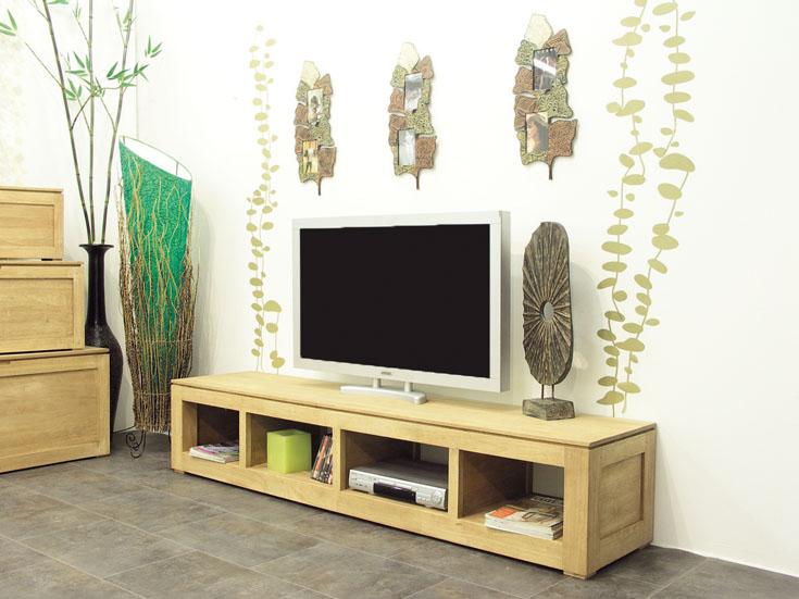 Meuble tv en hva bangkok4 de qualit de thalande lotusa for Meuble tv montreal hevea