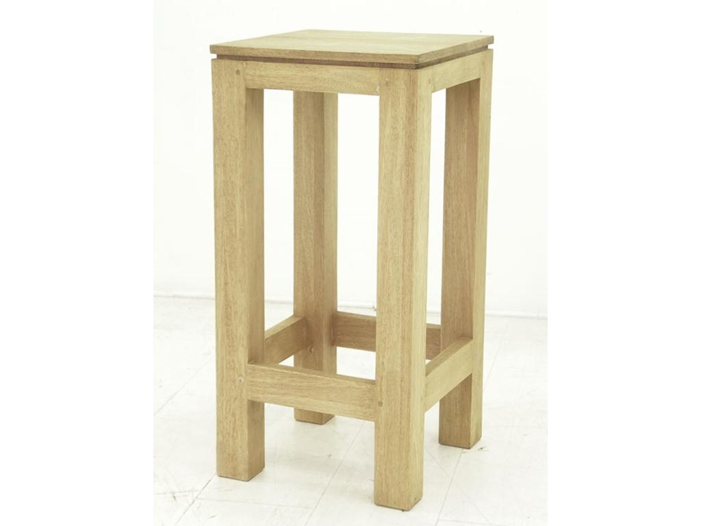 Tabouret de bar en hva bangkok de qualit meuble en bois - Tabouret de bar en bois brut ...