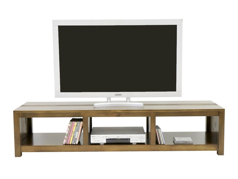 Meuble tv Pattaya4 en hva massif de qualit Meuble pour le salon Lotusa -> Modeles Tables Tv Plasma De Salon
