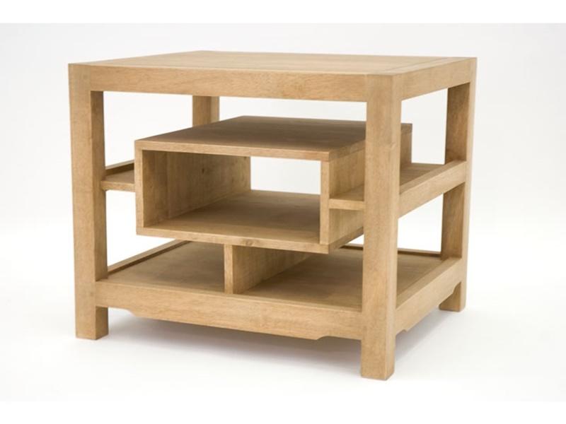 Bout de canap ranong en hva massif meuble en bois massif for Bout de canape wenge