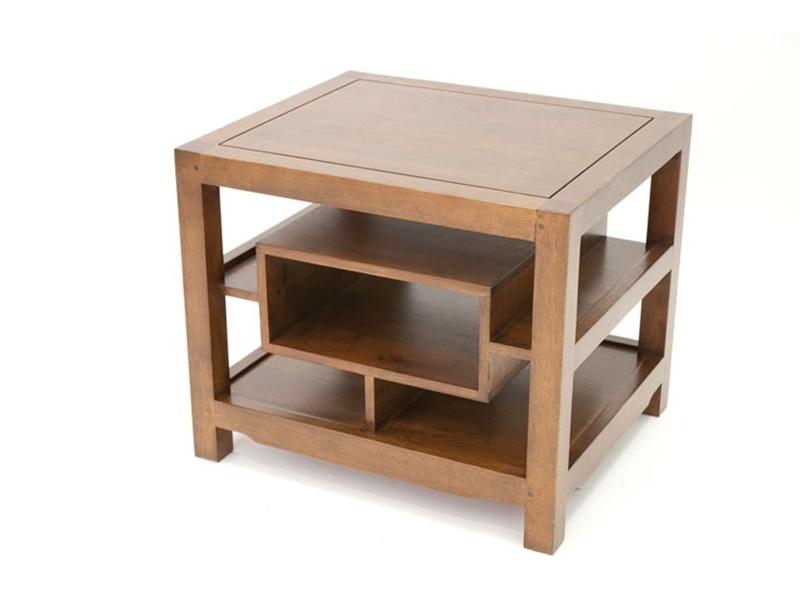 bout de canap ranong en hva massif meuble en bois massif pour la salle manger lotusa. Black Bedroom Furniture Sets. Home Design Ideas