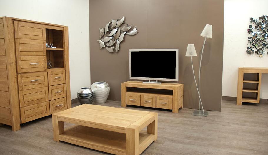 Meuble tv tiga en hva massif de qualit de thalande meuble for Meuble tv montreal hevea