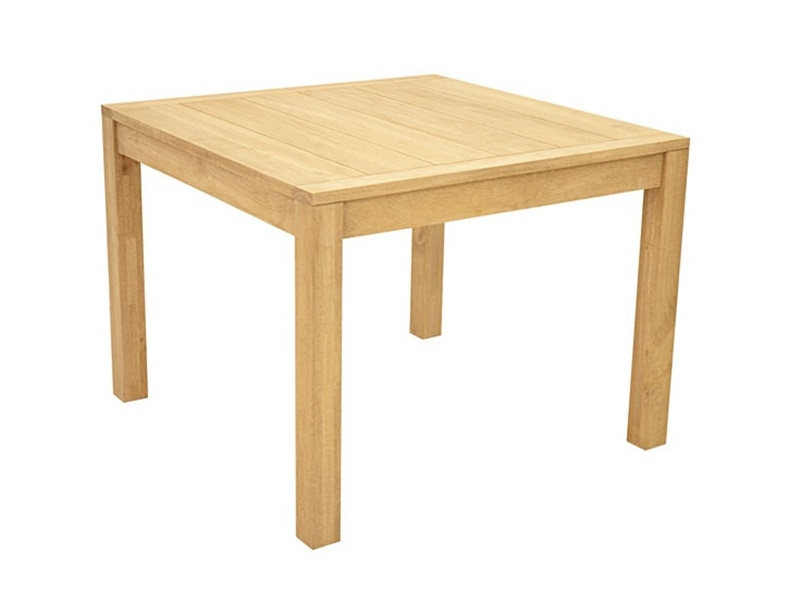 Table carre en hva massif thaman2 de qualit meuble de for Table de salle a manger carre
