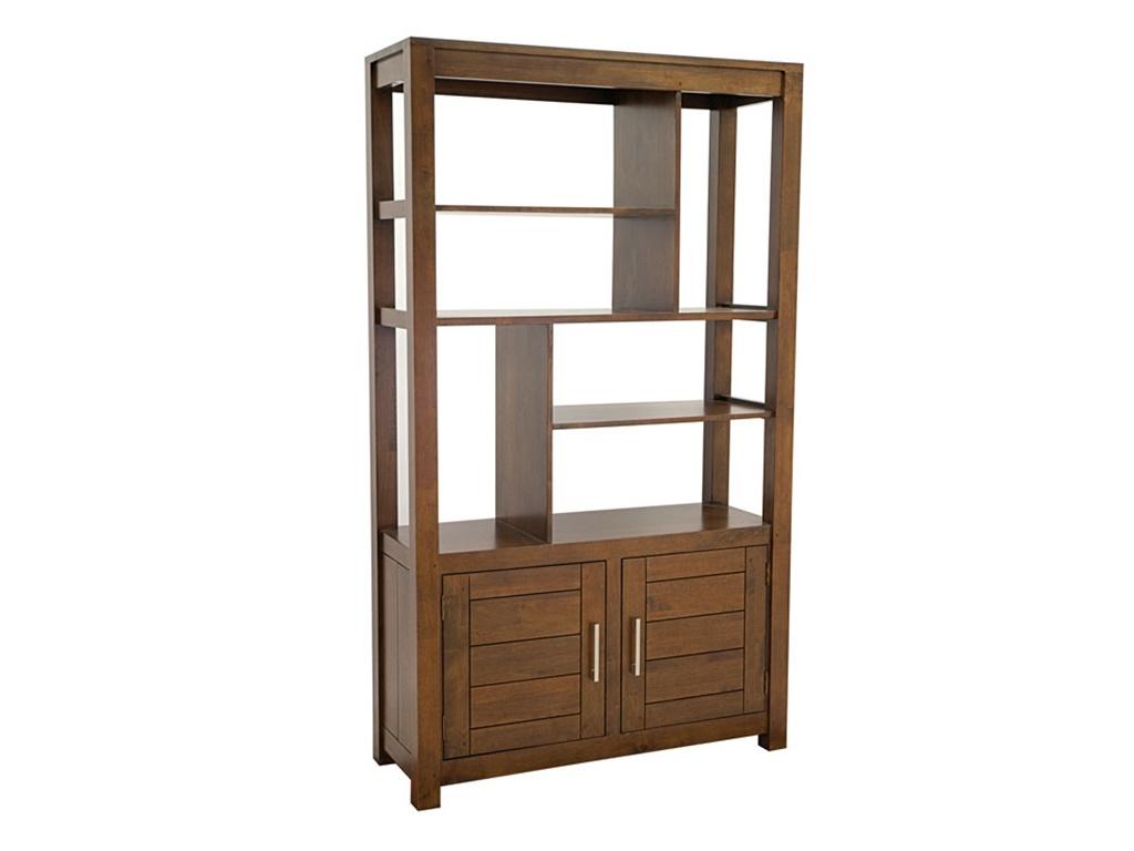 biblioth que en h v a massif thaman meuble de salon en. Black Bedroom Furniture Sets. Home Design Ideas