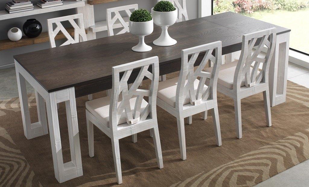 table de repas lina en bambou haut de gamme meuble pour la salle manger lotusa. Black Bedroom Furniture Sets. Home Design Ideas