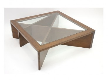 Table basse vitrée Ranong