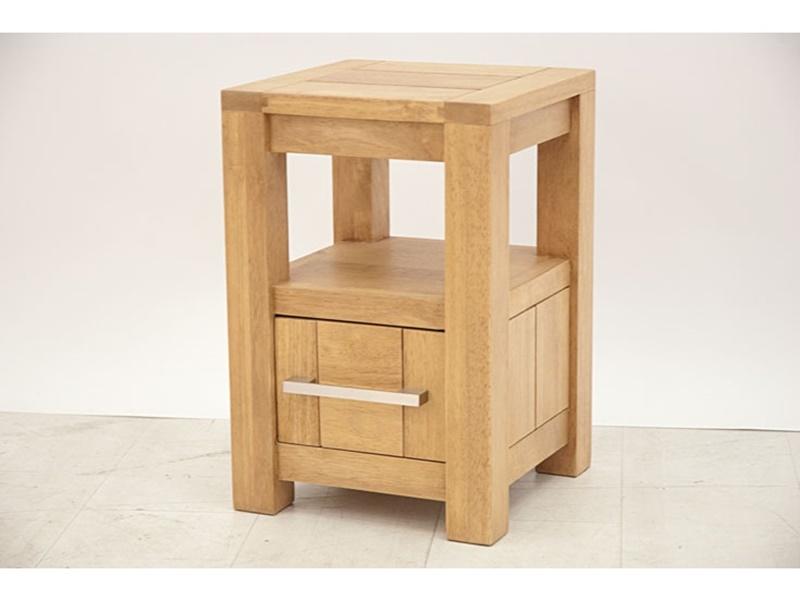 chevet en hva massif thaman2 meuble de salon lotusa. Black Bedroom Furniture Sets. Home Design Ideas