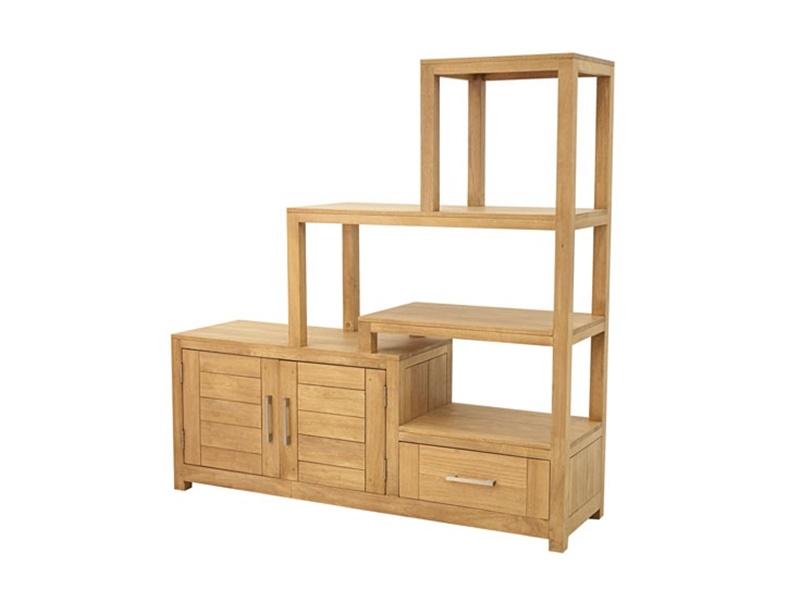 meuble escalier en hva massif thaman2 meuble pour complter votre salon lotusa. Black Bedroom Furniture Sets. Home Design Ideas