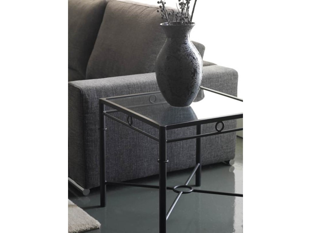 bout de canap atenas en fer forg haut de gamme meuble de salon lotusa. Black Bedroom Furniture Sets. Home Design Ideas
