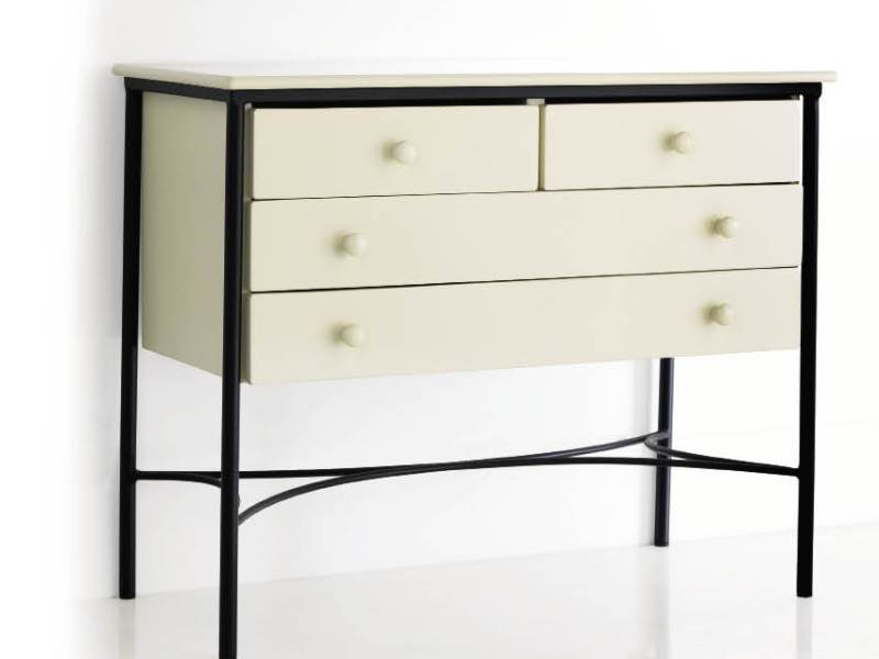 commode universal2 en fer forg haut de gamme meuble pour la chambr lotusa. Black Bedroom Furniture Sets. Home Design Ideas