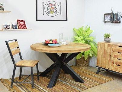 Chaise en Hévéa
