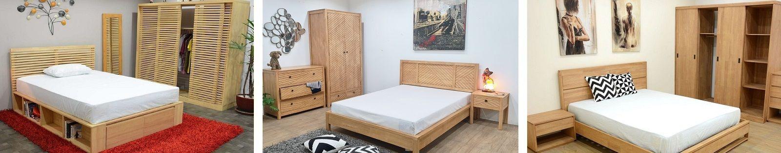Armoire en Hévéa massif. Meuble de rangement pour la chambre à coucher. Lotuséa