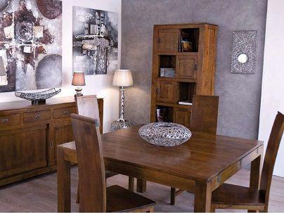 Table repas carrée