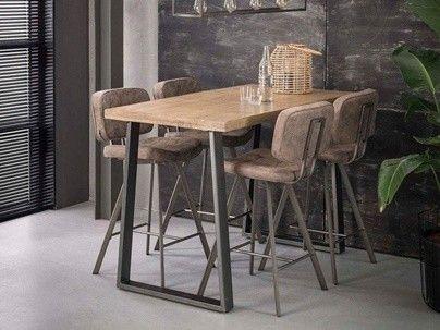Table bar bois