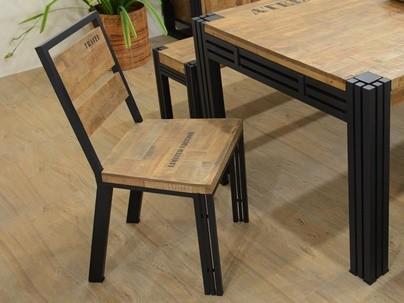 Chaise • Tabouret • Banc en bois recyclé