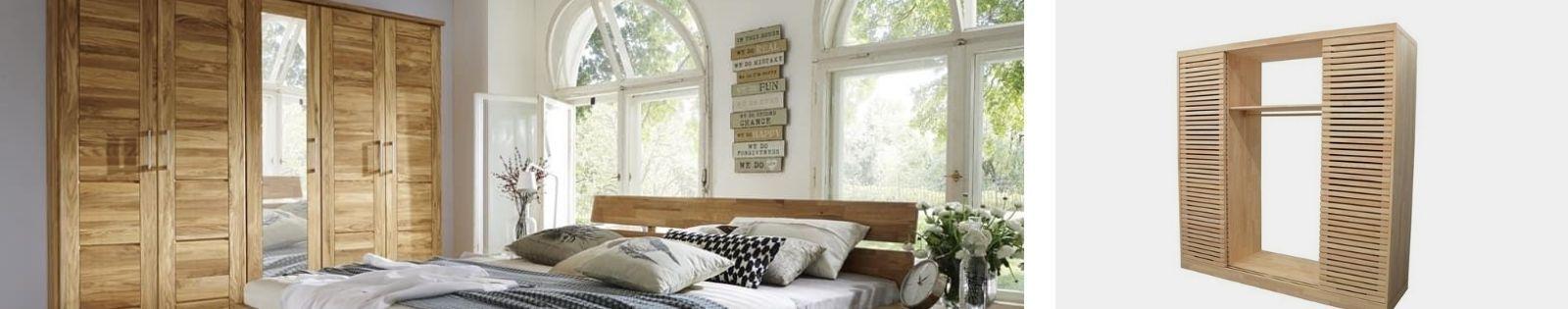 Armoire en bois massif : acacia, chêne, hévéa, teck... Lotuséa