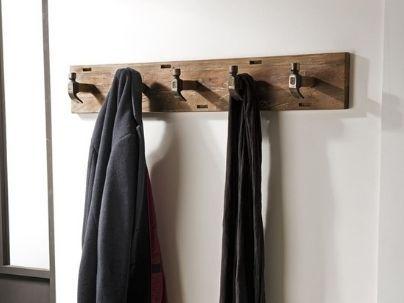 Porte-manteau bois