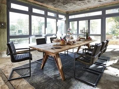 Table repas bois