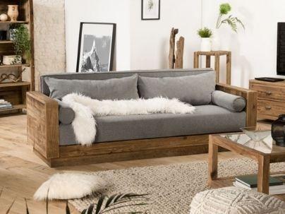 Canapé bois