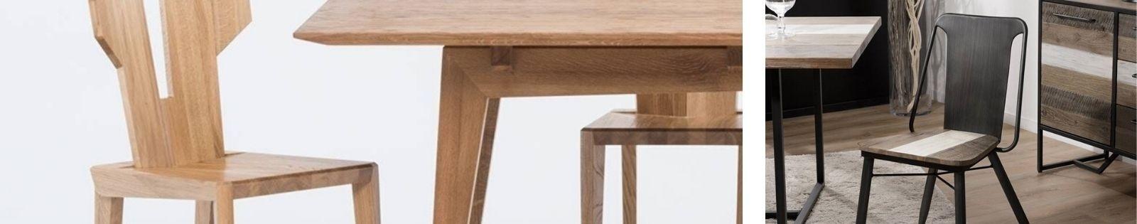 Chaise en bois massif : acacia, chêne, hévéa, teck... Lotuséa