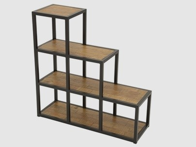 Meuble escalier bois
