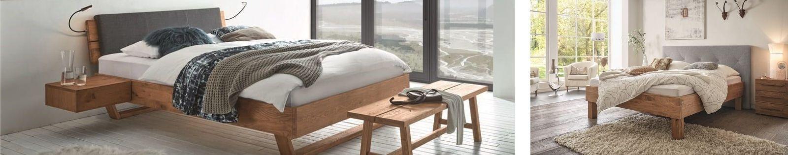 Gamme OAK WILD Hasena, meubles en chêne massif noueux et sauvage.