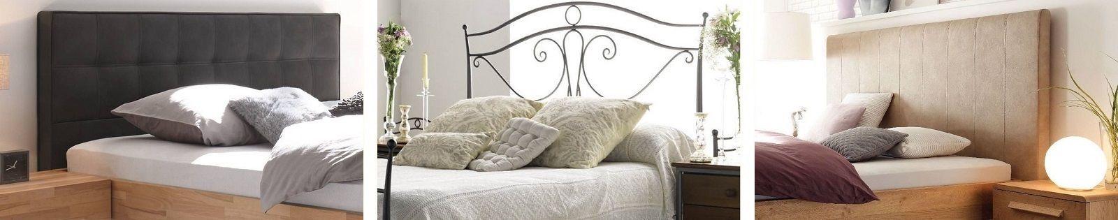 Tête de lit en bois massif, hévéa, chêne, teck, bambou, rotin, fer forgé. Meubles pour la chambre