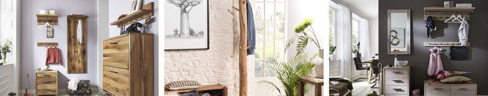 Porte-manteaux en bois massif, fer forgé et bambou. Lotuséa.
