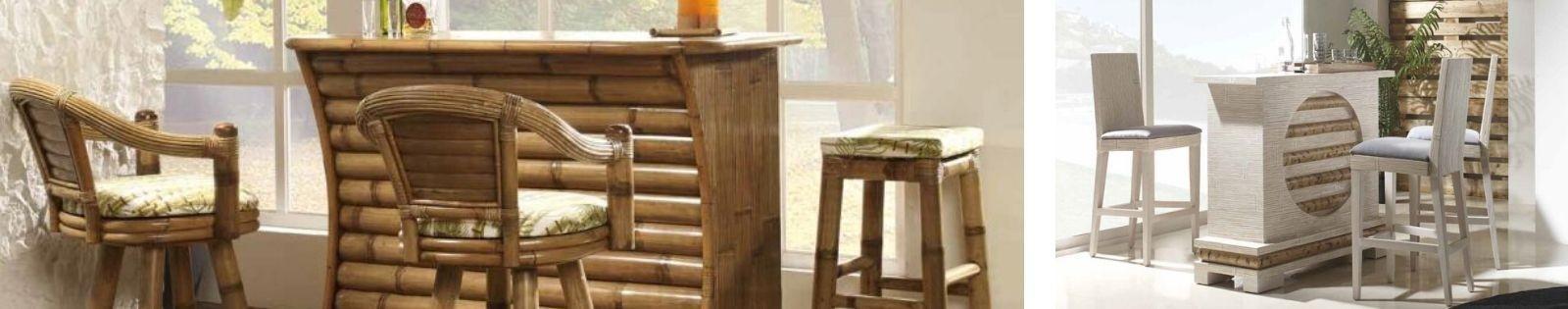 Bar en bambou : Meubles haut de gamme de fabrication artisanale