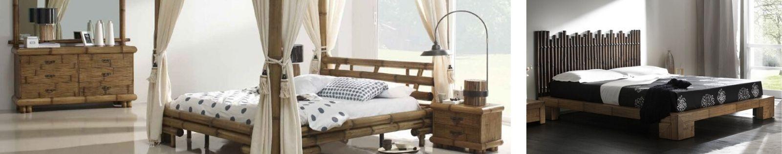 Lit bambou, chevet, lit baldaquin en bambou de qualité direct d'Indonésie - Lotuséa
