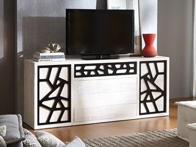 Meuble TV Bambou