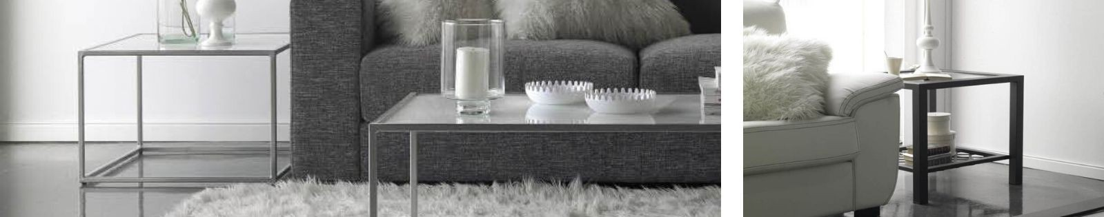 Bout de canapé Fer Forgé : Haut de gamme de fabrication artisanale.
