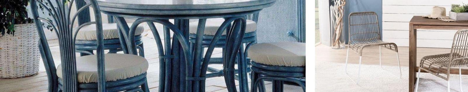 Chaise en rotin : Meubles haut de gamme de fabrication artisanale.