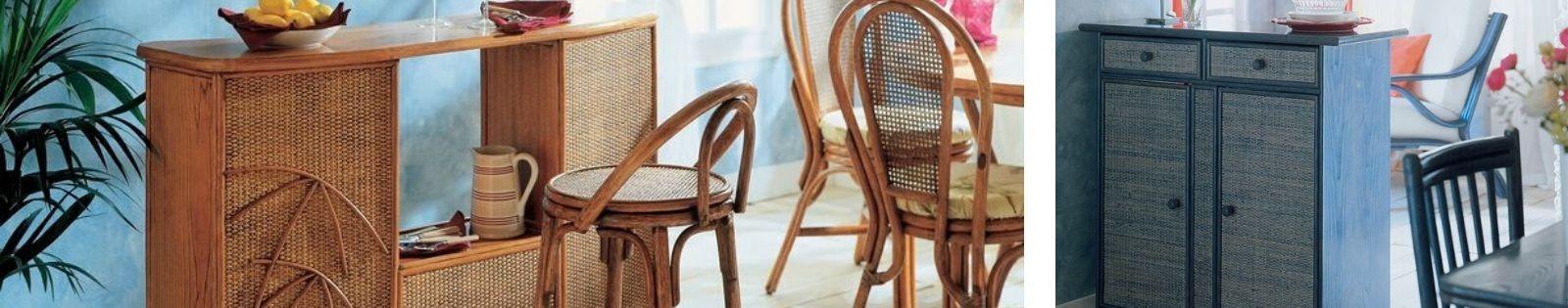 Bar Rotin : Meubles haut de gamme de fabrication artisanale. Lotuséa